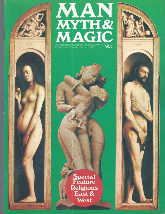 Man, Myth and Magic Part 6 Magazine by Richard Cavendish 1970