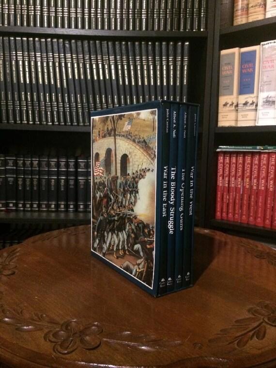 Gallery Books: Eyewittness History of The CIVIL WAR  by Albert A. Nofi & John Cannon  (Four volume box set)(MINT)