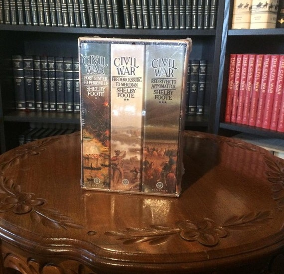 Shelby Foote's The Civil War-A Narrative 3 volume Softcover Box set SEALED (NEW)