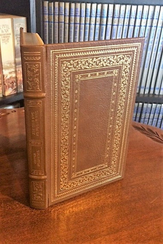The Bridge of San Luis Rey by Thornton Wilder Franklin Library-Pulitzer Prize Leather Bound (NEAR MINT)
