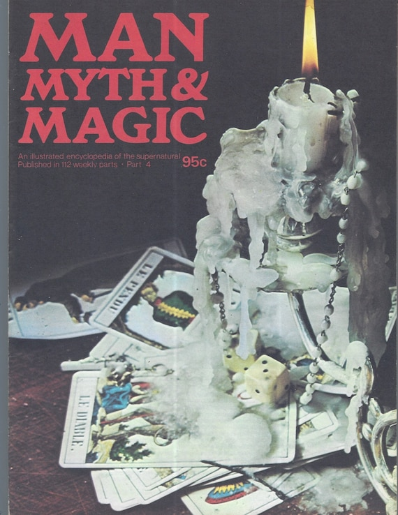 Man, Myth and Magic Part 4 Magazine by Richard Cavendish 1970
