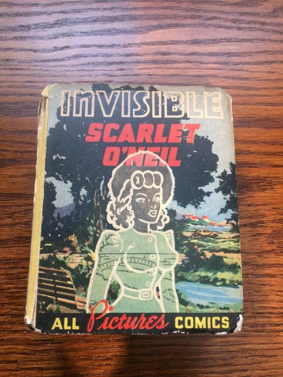 Invisible Scarlet O'Neil (ALL PICTURES COMICS) (1942) Better Little Book (Whitman)