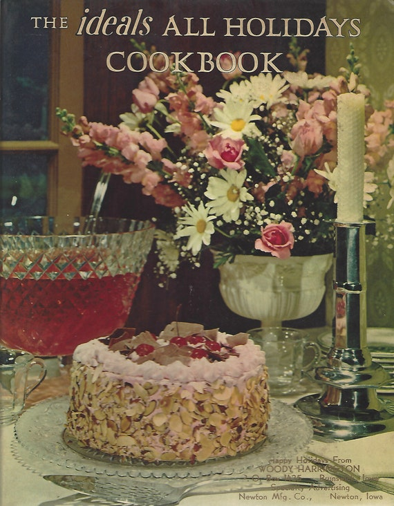 The Ideals All Holidays Cookbook   Softcover  (1974)