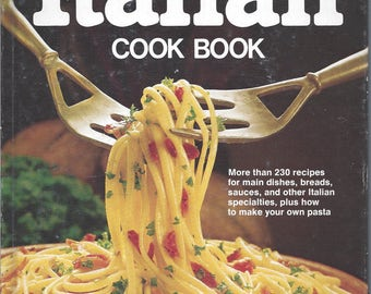 Better Homes and Gardens: Italian Cook Book (Hardcover)