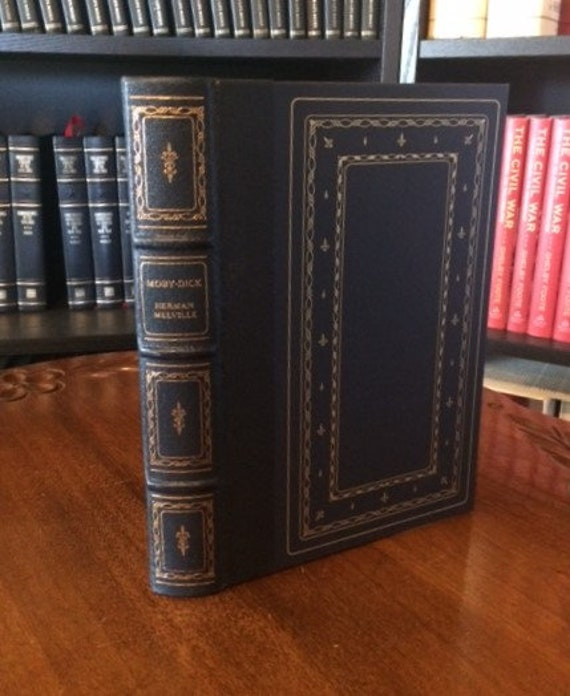 Moby- Dick by Herman Melville   Leather Bound (NEAR MINT)