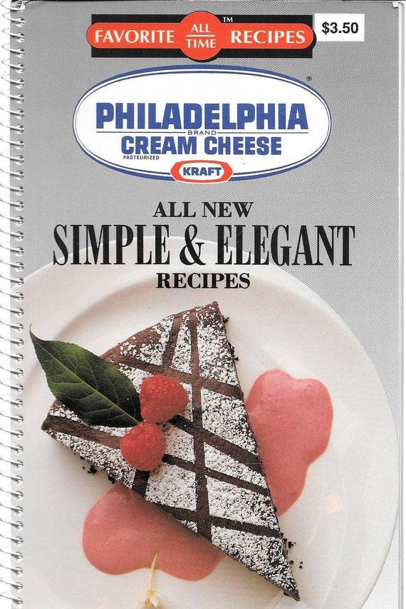 Favorite All Time Recipes-Philadelphia Cream Cheese by Kraft 1990