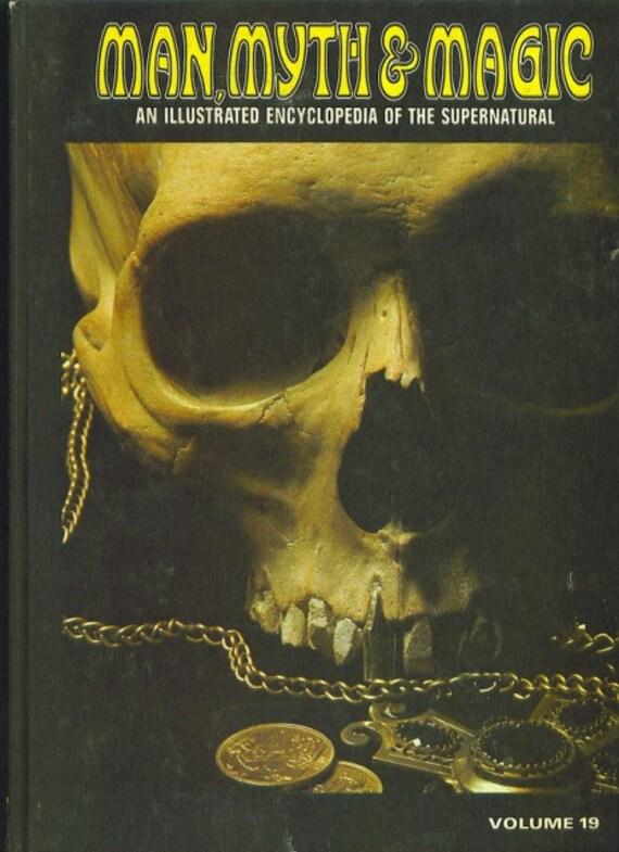 Man, Myth and Magic Volume 19 SEX-SPONTANEOUS PSI Exper... by Richard Cavendish 1970