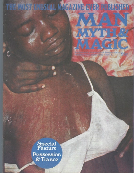 Man, Myth and Magic Part 5 Magazine by Richard Cavendish 1970