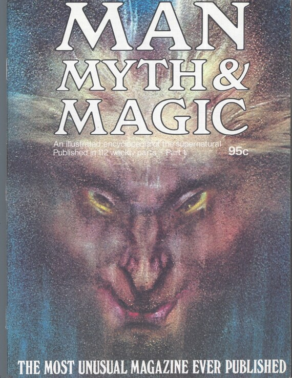 Man, Myth and Magic Part 1 Magazine by Richard Cavendish 1970