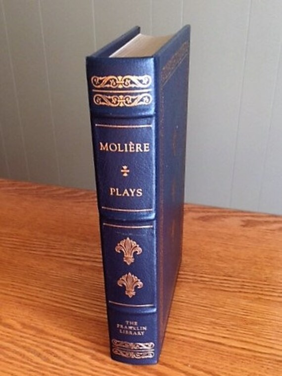 Seven Plays by Moliere Franklin Library (Leather Bound) (NEAR MINT)