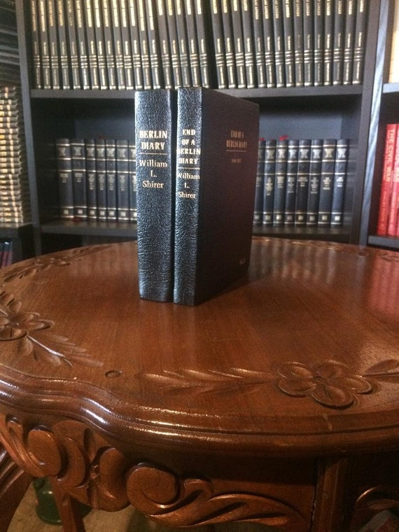 Berlin Diary by William Shirer Easton Press Leather Bound