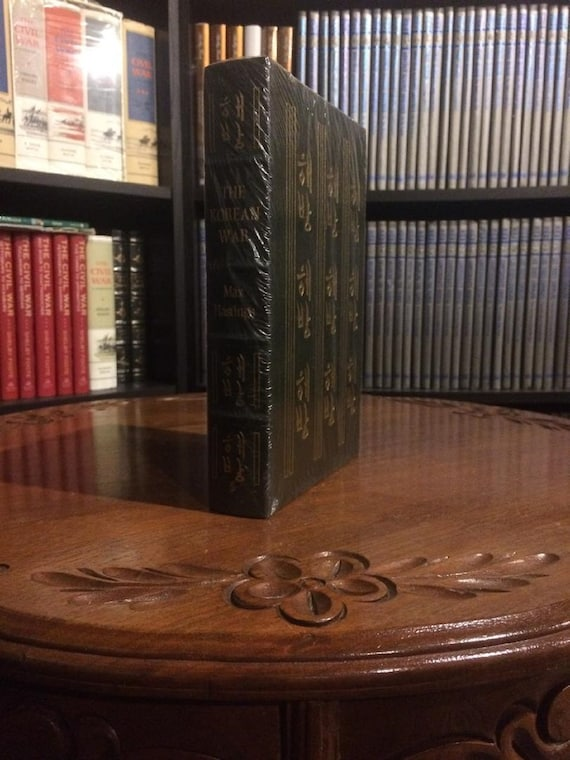 The Korean War by Max Hastings Easton Press (Leather Bound) (SEALED MINT)