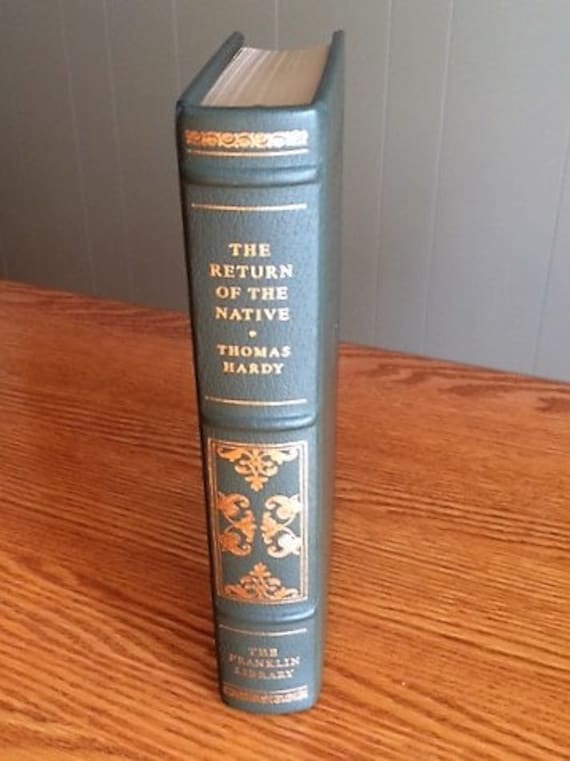 The Return of the Native by Thomas Hardy Franklin Library (Leather Bound) (NEAR MINT)