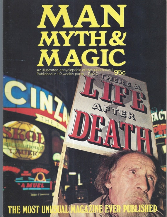 Man, Myth and Magic Part 2 Magazine by Richard Cavendish 1970