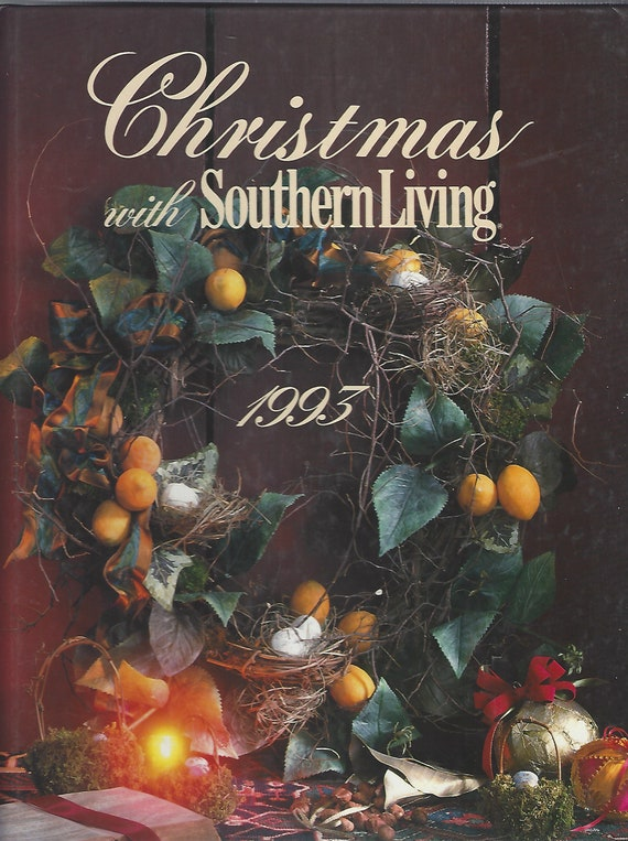 Christmas with Southern Living  1993  Hardcover