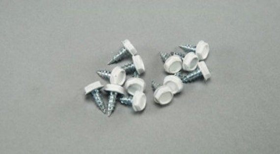 "100 count Stainless Steel screw #6 x 3/8"" (1/4"" hex head)"