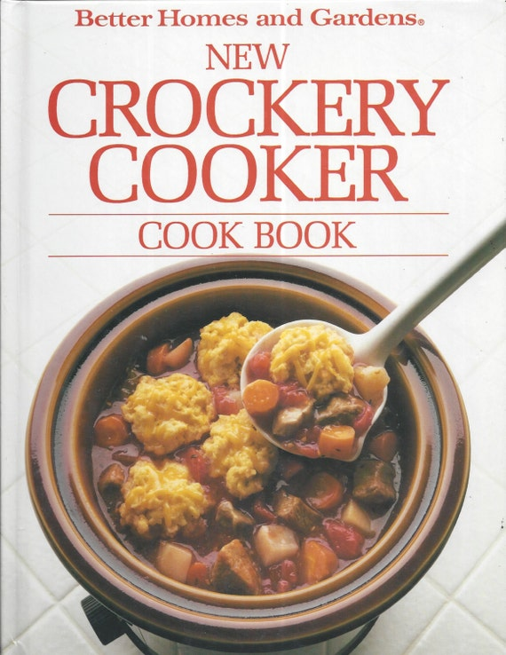 Better Homes and Gardens: New Crockery Cooker Cook Book (Hardcover)