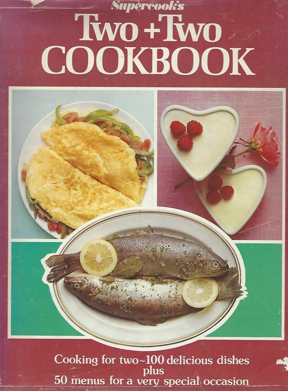 Supercook's Two + Two Cookbook   Hardcover  (1977)