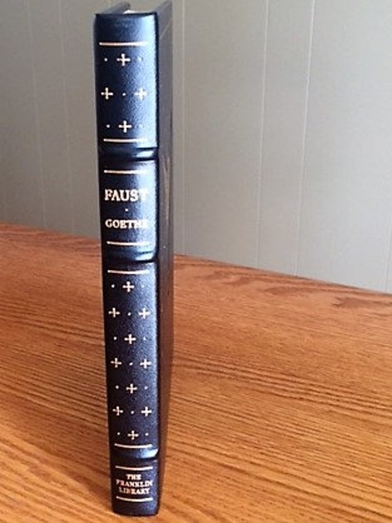Faust by Goethe Franklin Library (Leather Bound) (NEAR MINT)