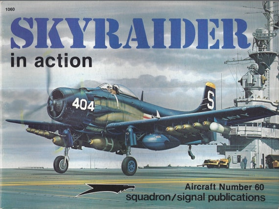 AD Skyraider in Action - Aircraft No. 60 (Paperback)