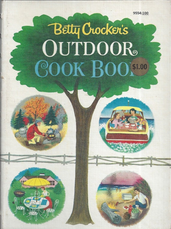 Betty Crocker's Outdoor Cook Book 1961 1st Edition/Printing