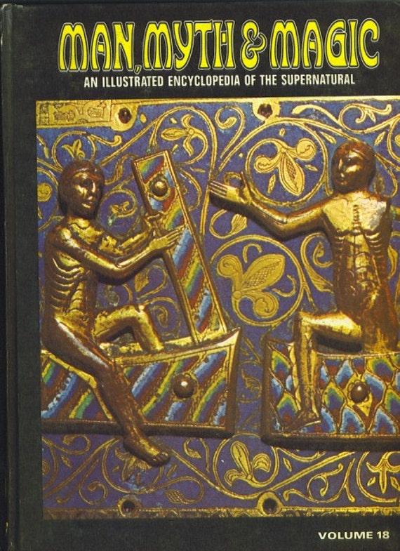 Man, Myth and Magic Volume 18 PRINCE TO RITUAL by Richard Cavendish 1970