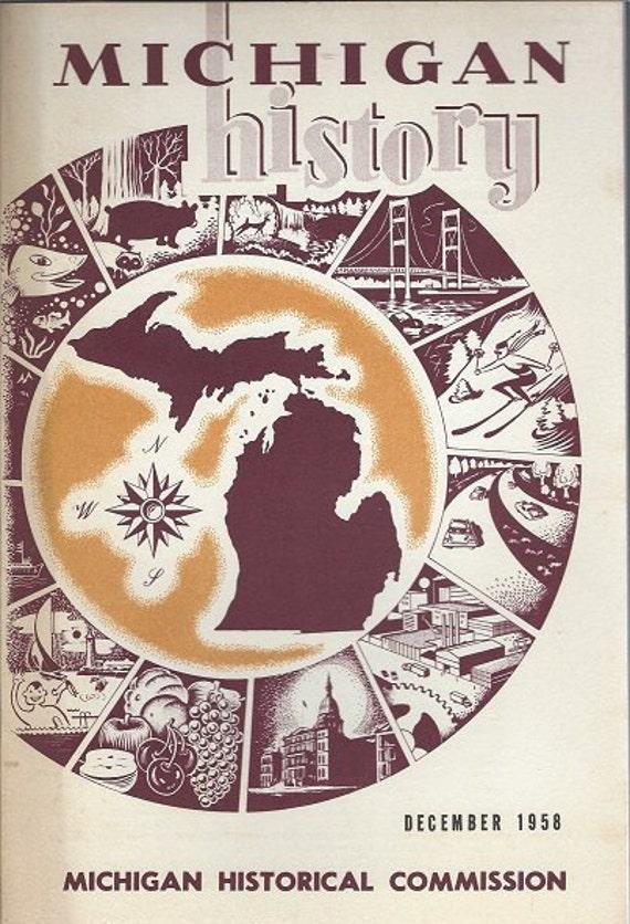 Michigan History December 1958 Volume 42 No. 4
