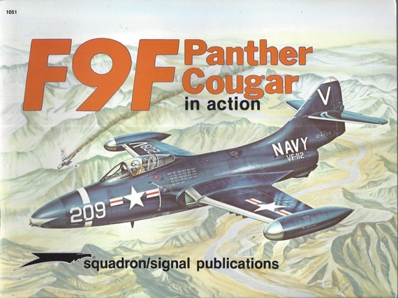 F9F Panther/Cougar in action - Aircraft No. 51 (Paperback)