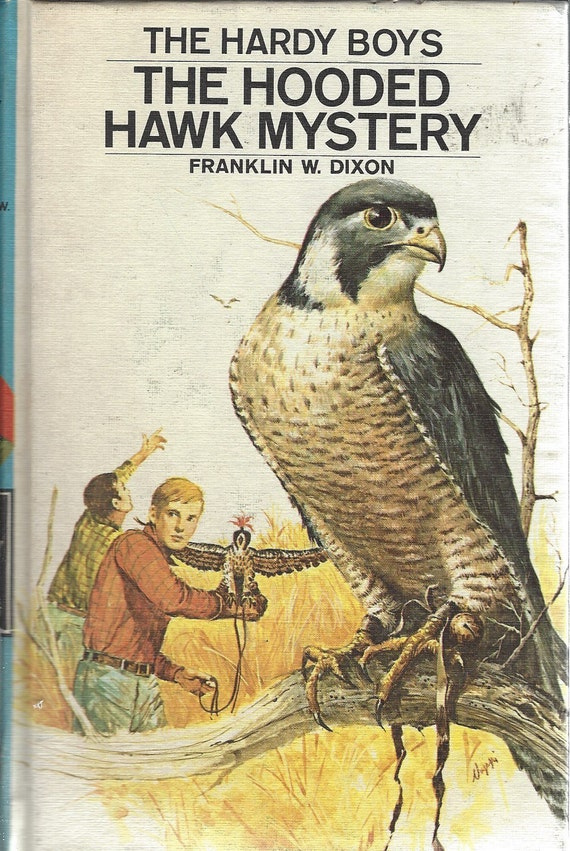 The Hardy Boys by Franklin W. Dixon No. 34 The Hooded Hawk Mystery (1973)