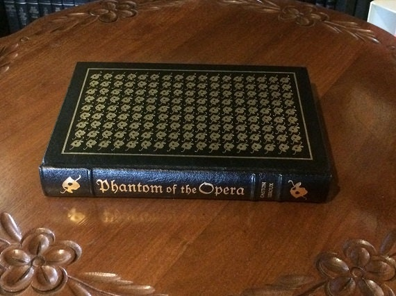 Phantom of the Opera Leather Bound (NEAR MINT) Easton Press