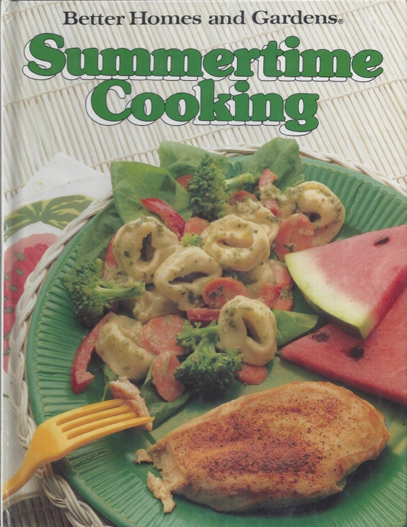 Better Homes and Gardens: Summertime Cooking Cook Book (Hardcover)