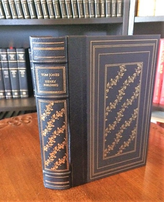 The History of Tom Jones; A Foundling by Henry Fielding Leather Bound (NEAR MINT)