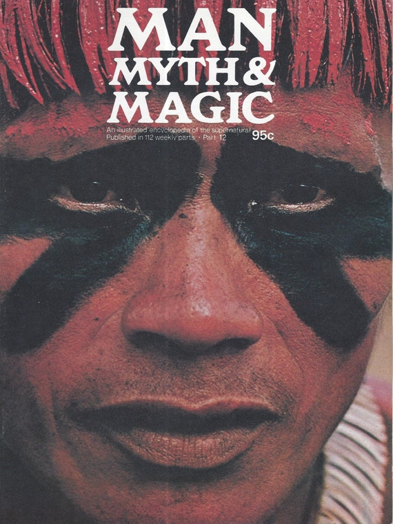 Man, Myth and Magic Part 12 Magazine by Richard Cavendish 1970