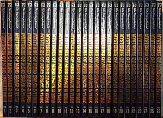 Mysteries of Mind Space & Time-The Unexplained-26 Volume Set 1992