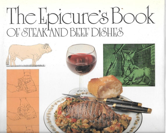 The Epicure's Book of Steak and Beef by Marguerite Patten 1979