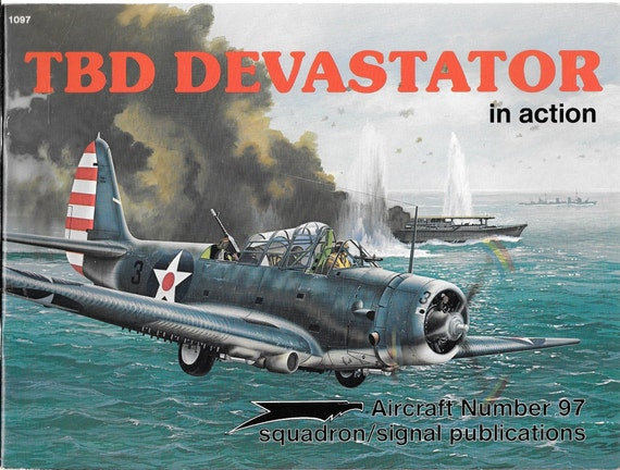 TBD Devastator in Action Squadron Signal Aircraft NO. 97
