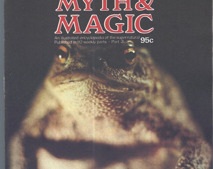 Man, Myth and Magic Part 3 Magazine by Richard Cavendish 1970