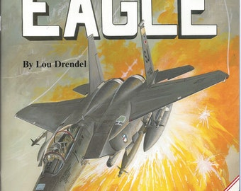 Modern Military Aircraft series F-15 Eagle  by Lou Drendel (Paperback)