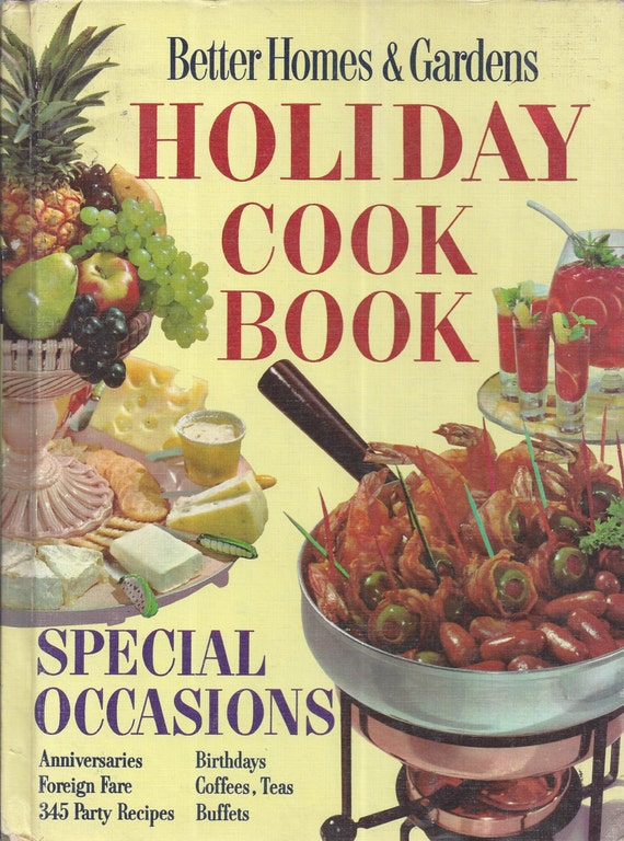 Better Homes and Gardens: Holiday Cook Book (Hardcover)