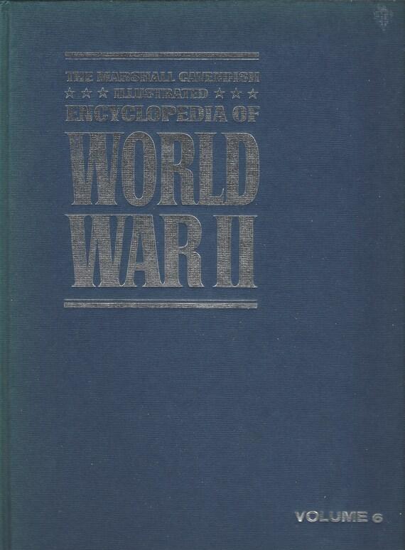 The Marshal Cavendish Illustrated Encyclopedia of World War II  (Volume 6)  Atlantic Ordeal   (1972)