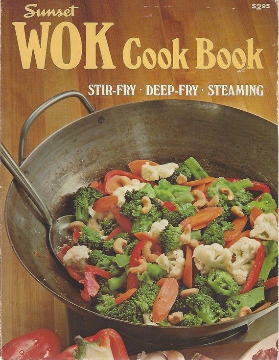 The Sunset WOK Cookbook Softcover (1979)