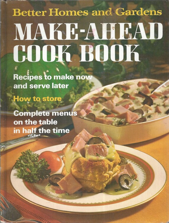 Better Homes and Gardens: Make-Ahead Cook Book (Hardcover)