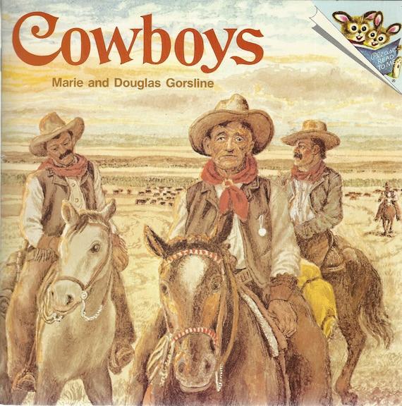 COWBOYS by Marie Douglas Gorsline (Paperback) 1978