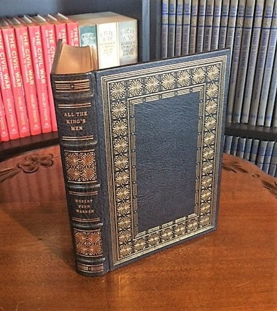All the King's Men by Robert Penn Warren Franklin Library-Pulitzer Prize Leather Bound (NEAR MINT)