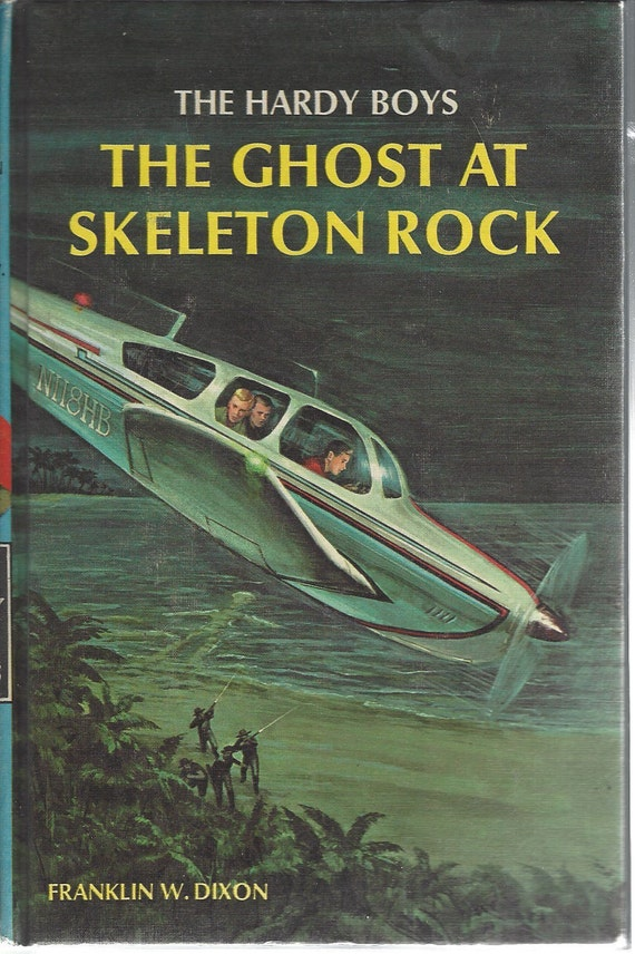 The Hardy Boys by Franklin W. Dixon No. 37 The Ghost at Skeleton Rock (1972)