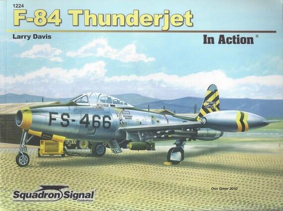 F-84 Thunderjet-In Action  (Paperback)