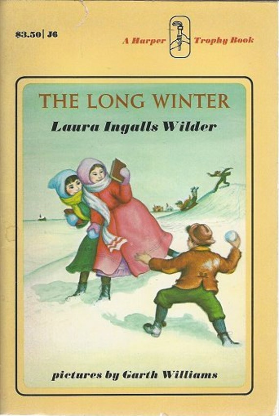 The Long Winter by Laura Ingalls  (1971) 1st Harper edition