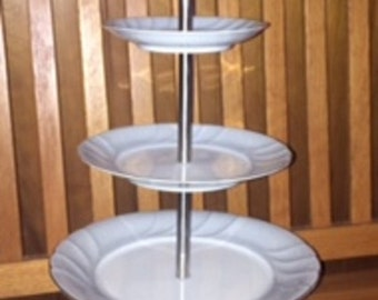 CupCake/Cookie Stand-Stainless Steel