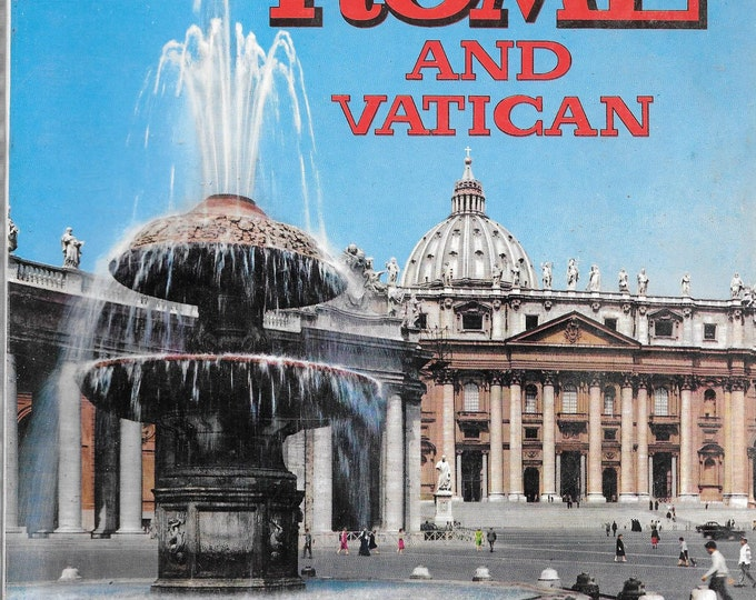 Rome and Vatican 1971-170 Coloured Tables Kodak (Paperback)