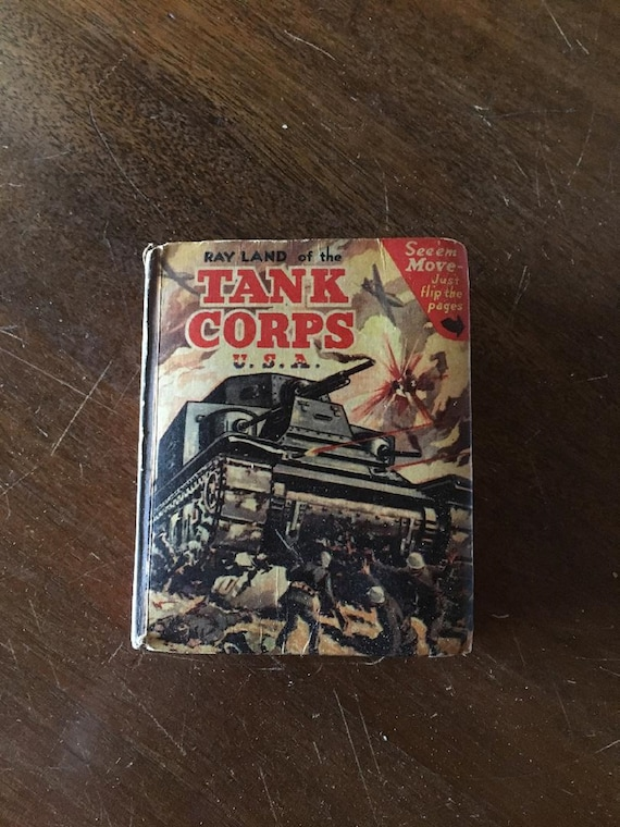RAY LAND of the Tank Corps USA (1942) Better Little Book (Whitman)